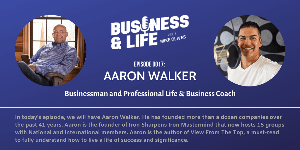 Business & Life with Aaron Walker; Why Money Should Not Rule Your Life