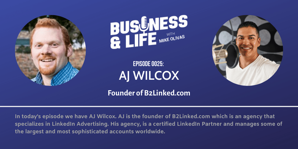 25 - AJ Wilcox-best-podcasts-for-entrepreneurs-business-and-life
