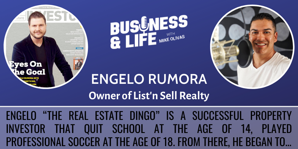 Business & Life with Engelo Rumora; The Real Estate Dingo