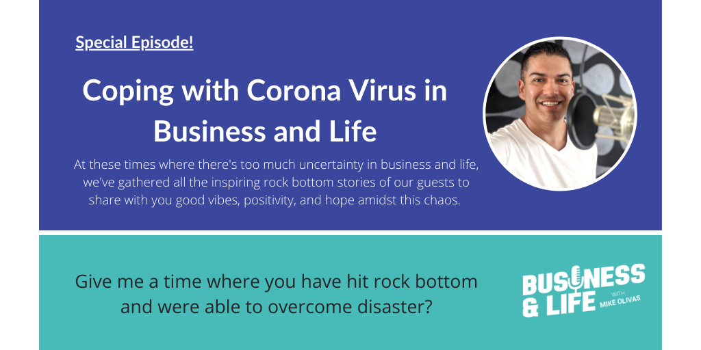 Episode 0089: Coping with Covid in Business and Life