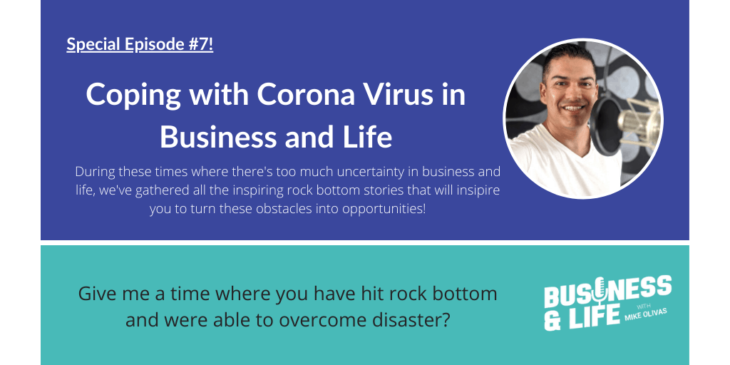 Episode 0095: Coping with Covid in Business and Life 7